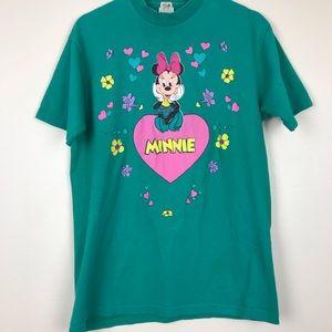 Vintage Disney Minnie Mouse Graphic Shirt
